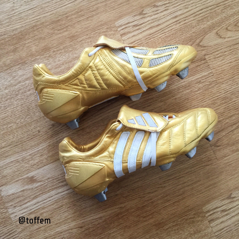 Adidas Predator Zidane Gold