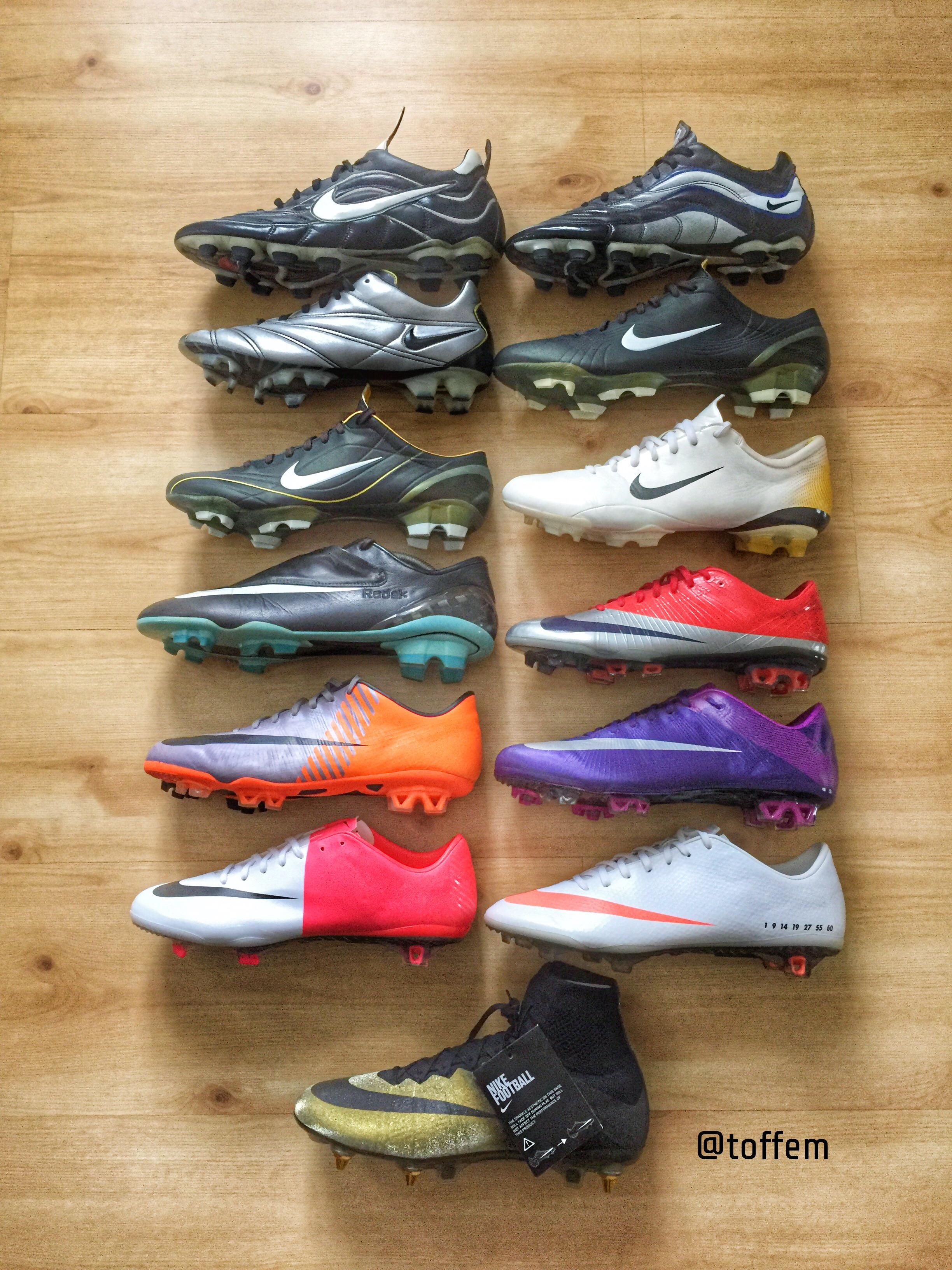 c4badc333 Nike Mercurial 1998-2015 – Boots Vault