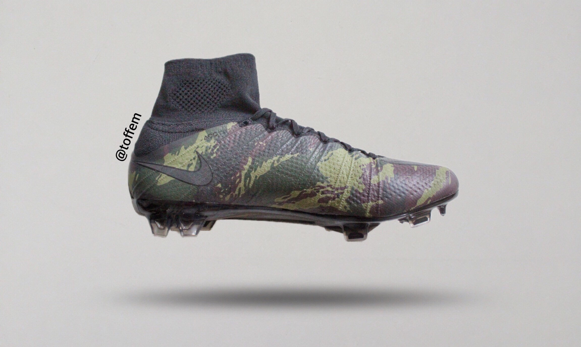 """73e608110fc In 28th of Mars 2016 Nike revealed the new """"Camo Pack"""" consisting of  Mercurial"""