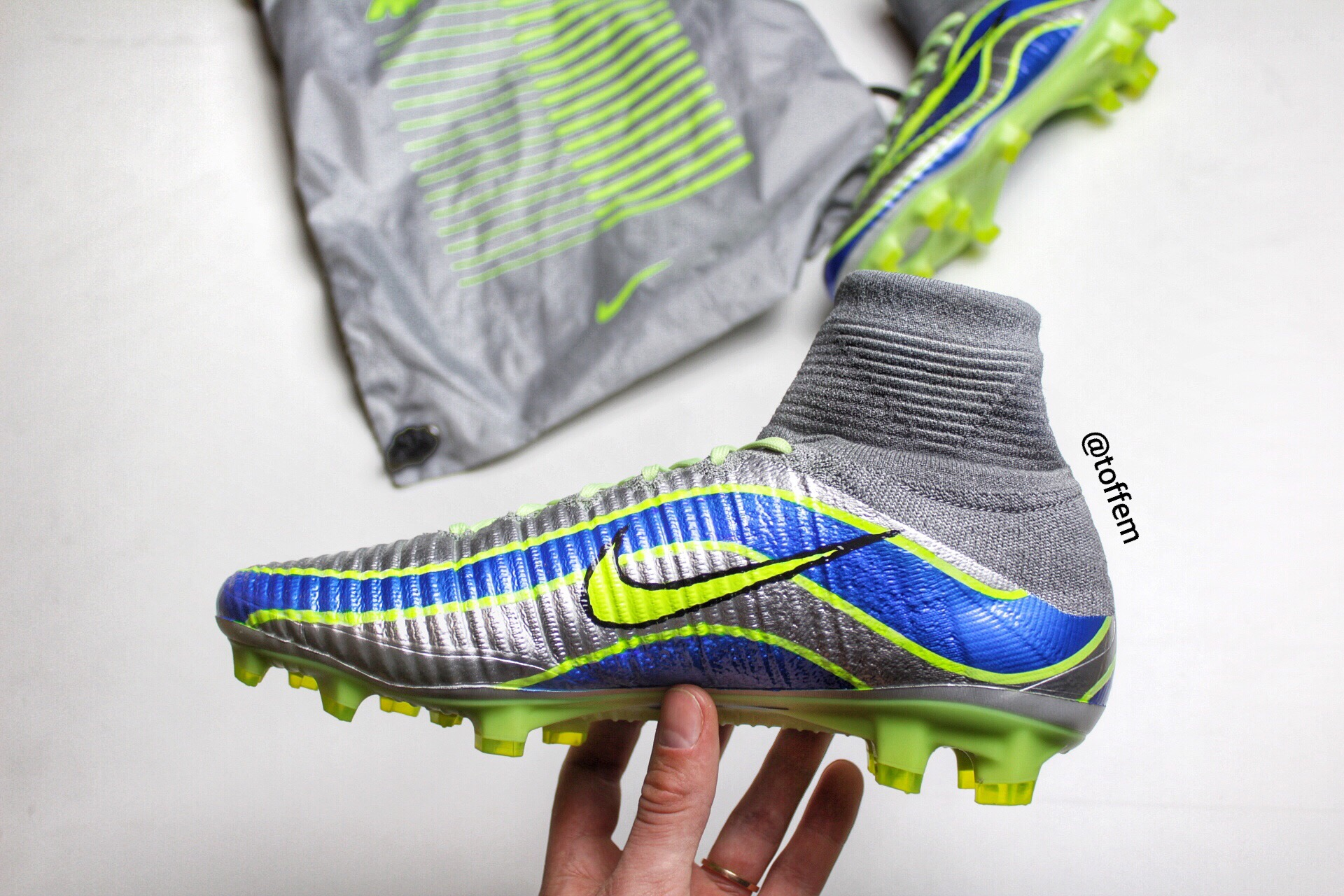 """953365ea7 Nike Mercurial Superfly V """"1998"""". Honestly this project is one of the  coolest thing this year! I had planned to do this custome makeover since  early 2016."""