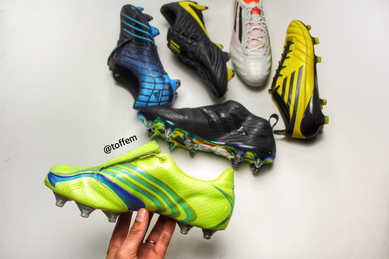 sale retailer 93d92 1b19c 2006 became a big year for Adidas F50 as the Adidas F50+ Tunit was revealed  along side the World Cup in Germany. First time ever you could customize  your ...
