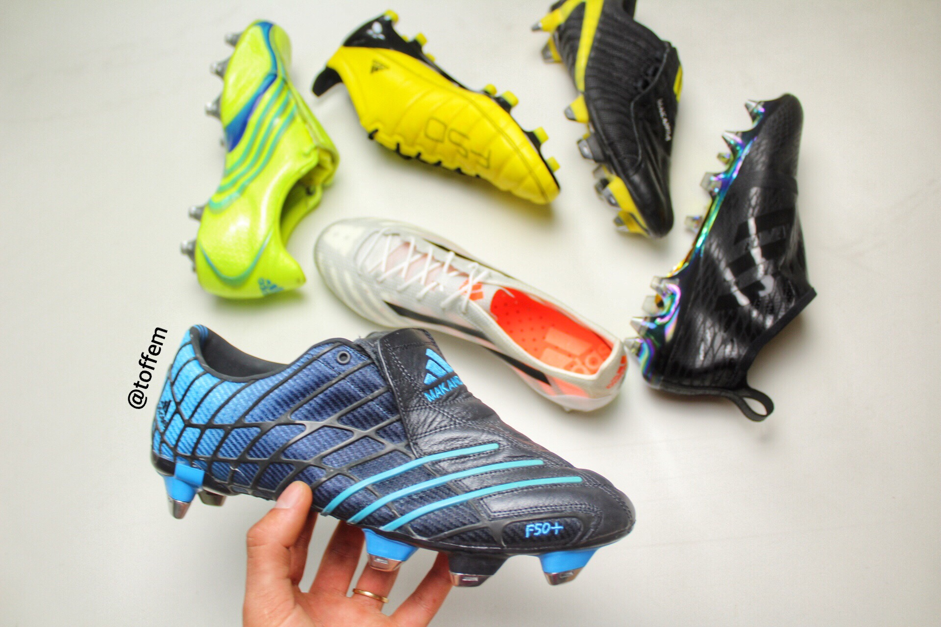 92efc245b In 2004 Adidas released the second generation of the F50 range for the  European Championship