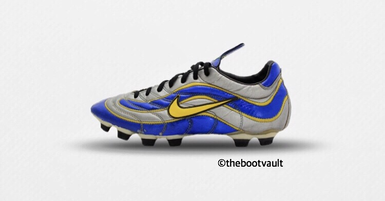 93c245d75 This was the first step for Nike getting into the market of light speed  boots.