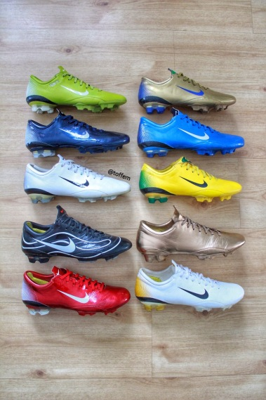 345a3fbb2 Milestones – Nike Mercurial Vapor III 2006 – Boots Vault