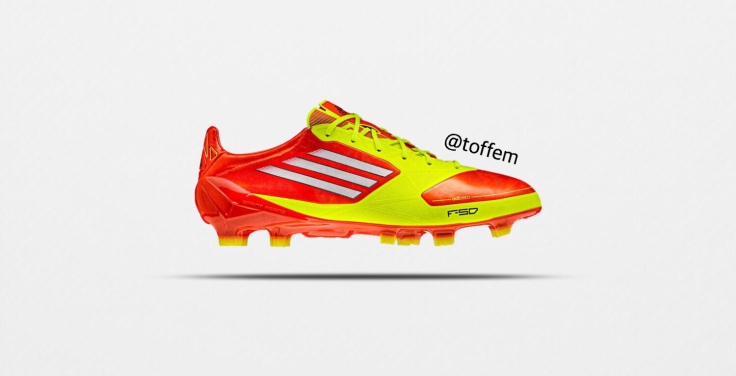 """48ad05379 The new Adizeros were available in synthetic and leather. New design in the  upper """"Sprintweb"""" gave better stability in high speed."""